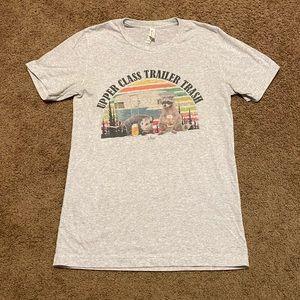 Bella Canvas Upper Class Trailer Trash tshirt